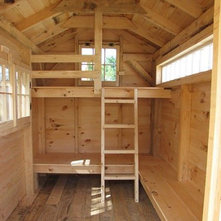 Bunk House Kit Prefab Bunk House Jamaica Cottage Shop Bunk House Tiny House Big Living Tiny House Interior