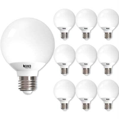Top 10 Best Light Bulbs For Bathrooms In 2019 Reviews Light
