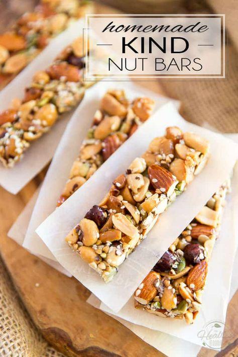 Homemade KIND Nut Bar