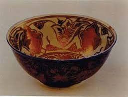 الخزف ذو البريق المعدني بحث Google Decorative Bowls Decor Bowl