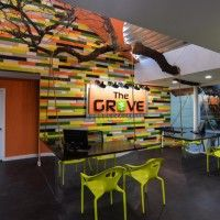 Austin Interior Design Firm True Interiors Takes A Creative Approach To This Workspace