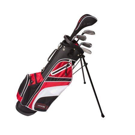 Tour X Size 2 5pc Jr Golf Set W Stand Bag Walmart Com Golf Set Golf Bags Golf Accessories Ladies