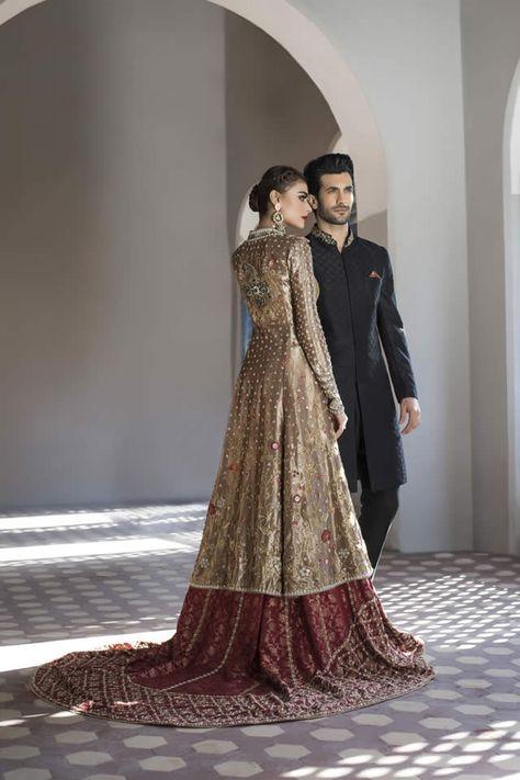 Famous Pakistani fashion designer Sania Maskatiya recently launched her bridal Collection 2016
