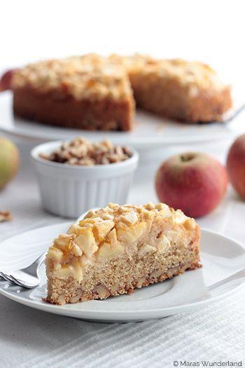 Apple Walnut Cake   - ☆ Gerмαɴ: Kυcнeɴ ☆ - #apple #Cake #Gerмαɴ #Kυcнeɴ #walnut