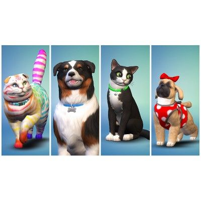 The Sims 4 Cats And Dogs Expansion Pack Pc Game Sims Pets