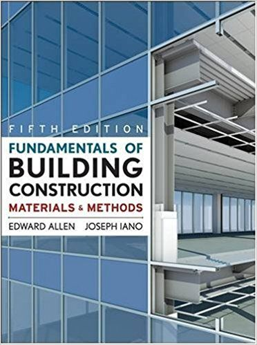 Fundamentals Of Building Construction Materials And Methods 5th