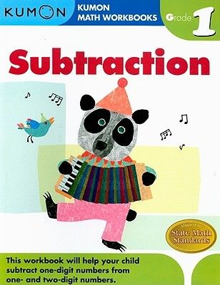 Pdf Download Subtraction Grade 1 Kumon Math Workbooks By