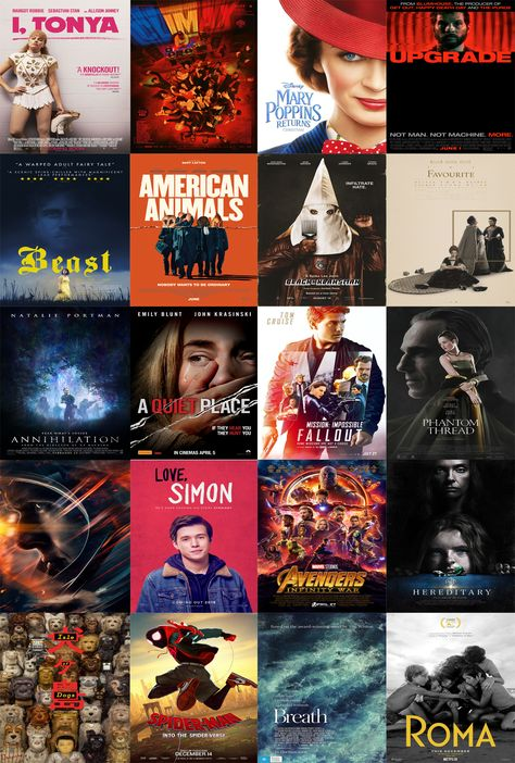 Salty Popcorn Top 20 Movies of 2018 | Salty Popcorn