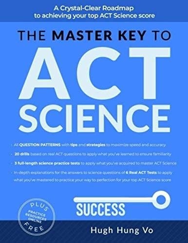 Pdf Download The Master Key To Act Science A Crystal Clear Roadmap To Achieving Your Top Act Scie Free Epub Books Books To Read Online Ebooks Online