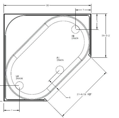 Garden Dimensions Corner Tub Sizes Remarkable Contemporary