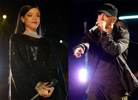 Eminem and Rihanna Salute Veterans at 'The Concert for Valor