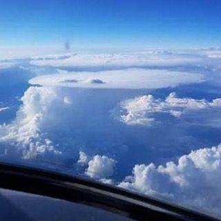 New The 10 Best Home Decor With Pictures سحابة كميولونيمبس في سماء بدفوردشير بإنجلترا كما تبدو من الطائرة Cumulonimbus Cloud Over Bedfords Outdoor Clouds