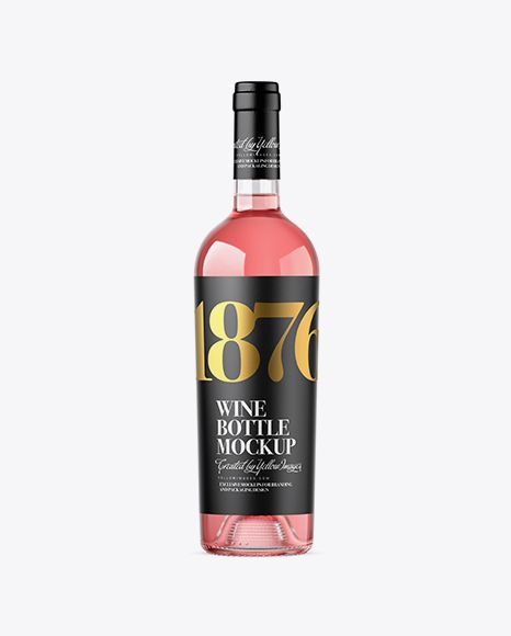 Download Clear Glass Pink Wine Bottle Mockup In Bottle Mockups On Yellow Images Object Mockups Bottle Mockup Mockup Free Psd Mockup PSD Mockup Templates