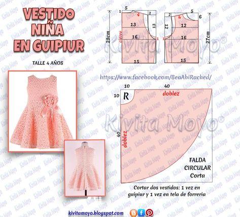 180 Ideas De Patrones Vestidos Niñas Patron Vestido Niña Vestidos Para Niñas Vestidos Para Bebés