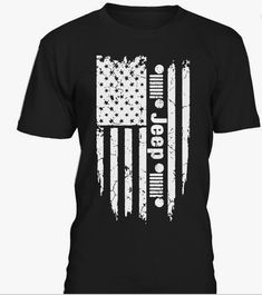 Jeep Flag T Shirt Only A Jeep T Shirt American Jeep T Shirt