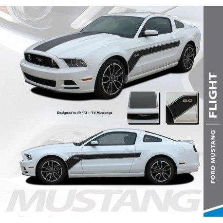 Pin By Autostripekits Com On Auto Stripe Decals Auto Trim Kits Ford Mustang Volkswagen Polo Gti 2014 Ford Mustang