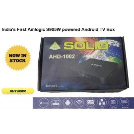 SOLID AHD-1002 Android 7 1 4K, H 265 Amlogic S905W powered
