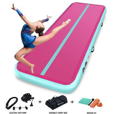 Advertisement Ebay Air Track 10ft 13ft 16ft 20ft Airtrack Home Gymnastics Tumbling Mat Inflatable Gymnastics Tumbling Mat Tumble Mats Gym Mats