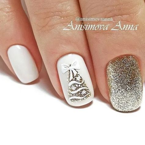 22+ beautiful winter nails art you should copy now page 13 | galeryhome.com