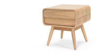 Made Nachttisch Helles Holz In 2019 Moderne Nachttische