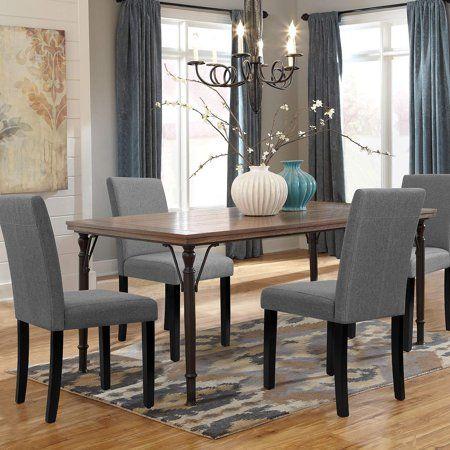 17++ Gray upholstered dining set Best Seller