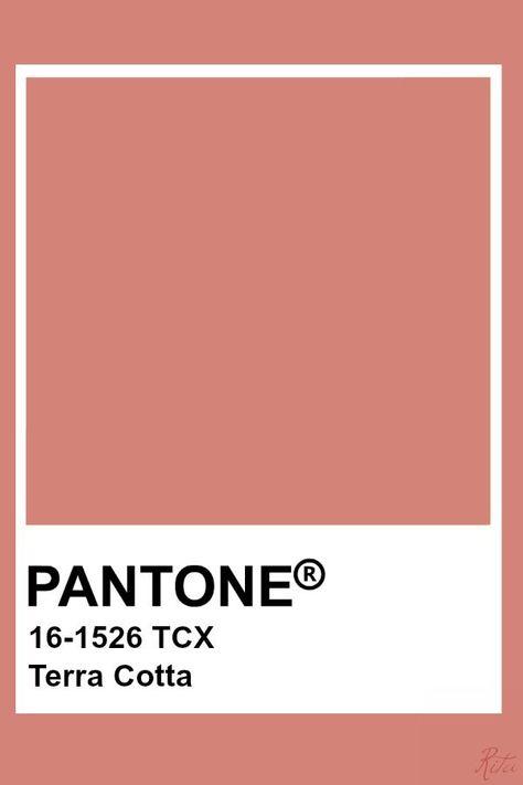 Pantone Terra Cotta