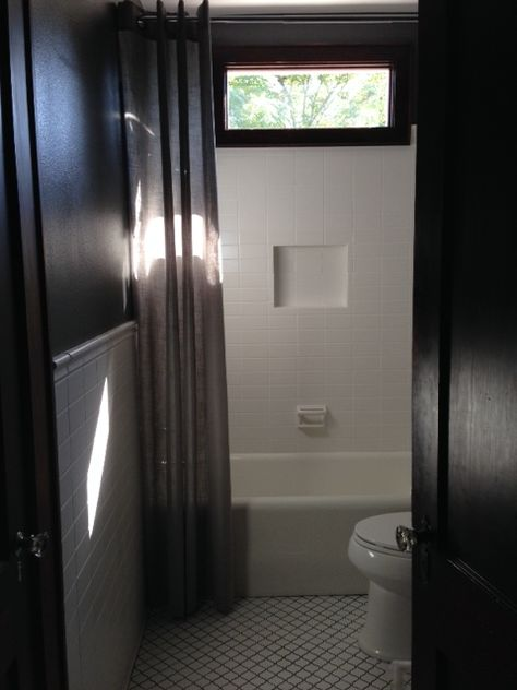 After: shower / tub