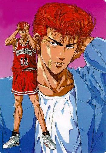 Hanamichi Sakuragi | Mejores dibujos animados, Anime manga, Dibujos animados