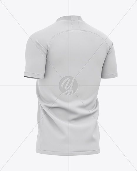 Download Men S Soccer V Neck Jersey Mockup Back Half Side View Present Your Design On This Mockup Simple To Change The Clothing Mockup Shirt Mockup Mockup Free Psd