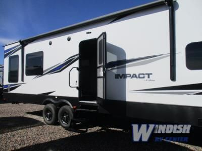 New 2018 Keystone Rv Impact 3216 Toy Hauler Travel Trailer At