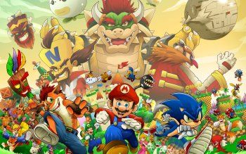 Let S Try Again Wallpaper Abyss Sonic Fan Characters Wallpaper Backgrounds Bandicoot