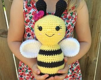 Honey Bear Pattern | Crochet bee, Kawaii crochet, Crochet patterns ... | 270x340
