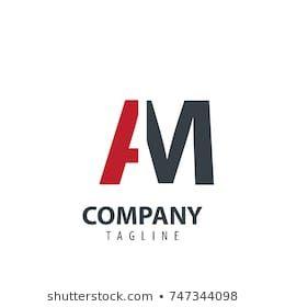Initial Letter Am Design Logo Graficheskij Dizajn Logotip Dizajn