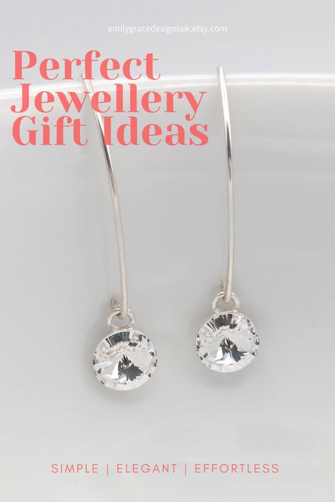 Looking for a perfect gift for yourself or that special someone? Find just what you are looking for at Emily Grace Designs. A wide selection of beautiful handmade earrings made in sterling silver and embellished with Swarovski® crystals. Shop now to find the perfect gift. #handmadegift #swarovskiearrings #crystalearrings #sterlingsilver
