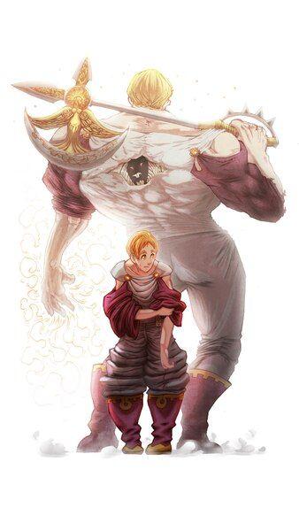 Escanor Sacred Treasure Divine Axe Rhitta Nanatsu No Taizai 4k Hd