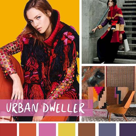 color report on Women's Market Mood: Urban Dweller.