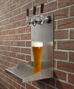 Wall Mounted Beer Tap Height Beer Taps Wall Mount Drip Tray