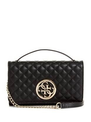 G Lux Quilted Wallet Clutch | Clutch wallet, Leather clutch