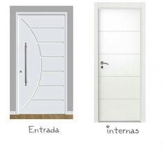 Detalhe Na Porta Fachadasverdessuvinil Porta De Entrada Branca Porta De Apartamento Portas De Madeira Internas