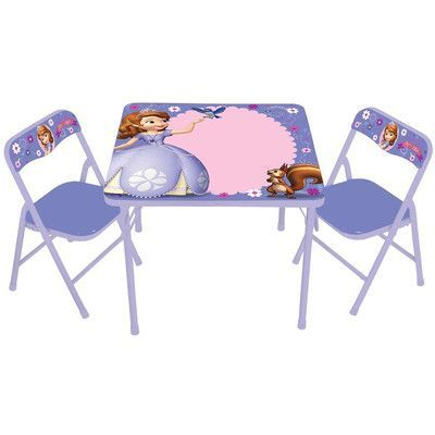 Delta Children Minnie Mouse Kid\'s 3 Piece Table and Chair Set ...