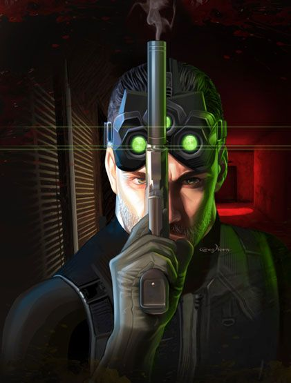 my first intense game when i was a kid was splinter cell well and of course halo kool pinterest gaming video games and comic art community - Splinter Cell Halloween Costume