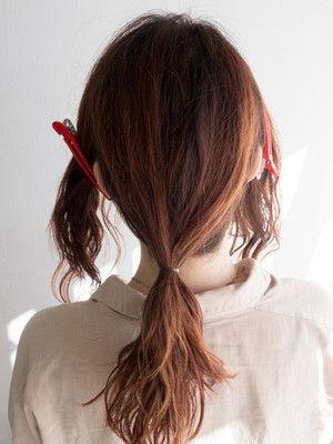 ギブソンタックのヘアアレンジのやり方 シンプルな簡単まとめ髪