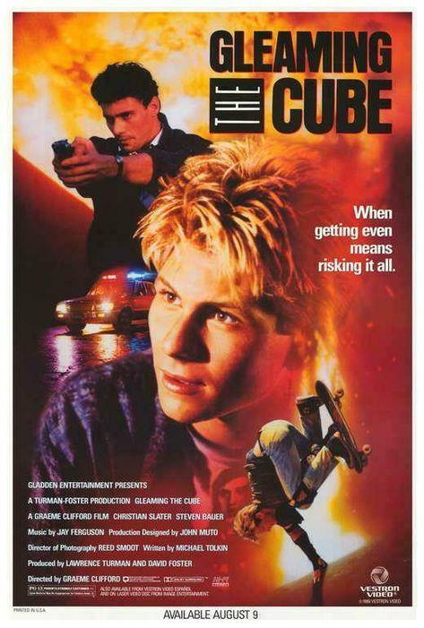 Gleaming the Cube Movie POSTER 27 x 40 Christian Slater, Steven Bauer, B    eBay