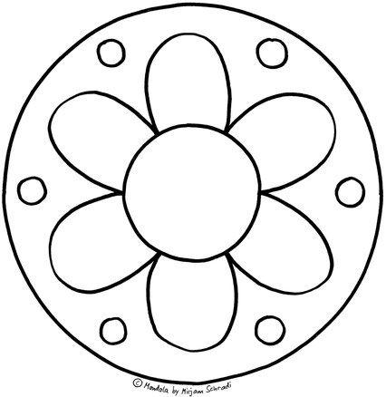 Pin Auf Mandalas Zum Ausdrucken Für Kinder Erwachsene