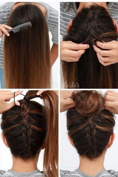 50 Unbelievably Simple Hairstyles For School Simple Styles School Un Hairsty Easy Hairstyles For Long Hair Easy Hairstyles Easy Hairstyles For School