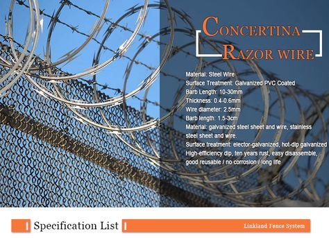 Pin By Anping Linkland Wiremesh Products Co Ltd On Razor Wire Fence Prices Galvanized Steel Sheet Stainless Steel Sheet