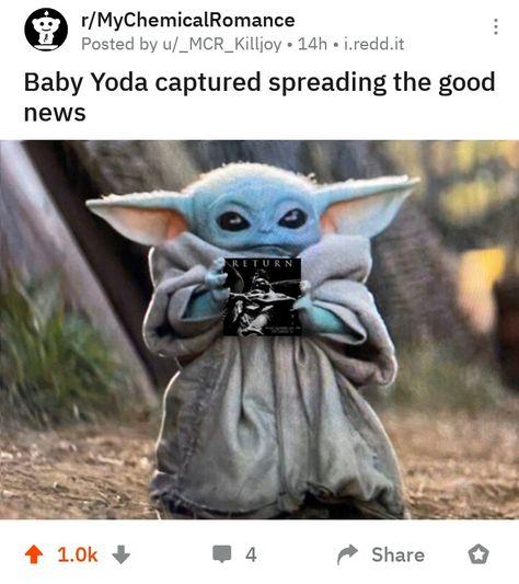 Pin By Unashamed Cringe Queen On My Organic Romance Yoda Meme Mandalorian Yoda