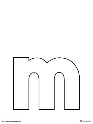 Letter M Do A Dot Worksheet Lettering Alphabet Alphabet Templates Printable Alphabet Letters