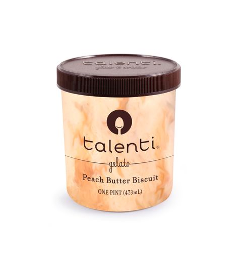 Talenti Peach Butter Biscuit. It's only around certain parts of the U.S. at this moment.