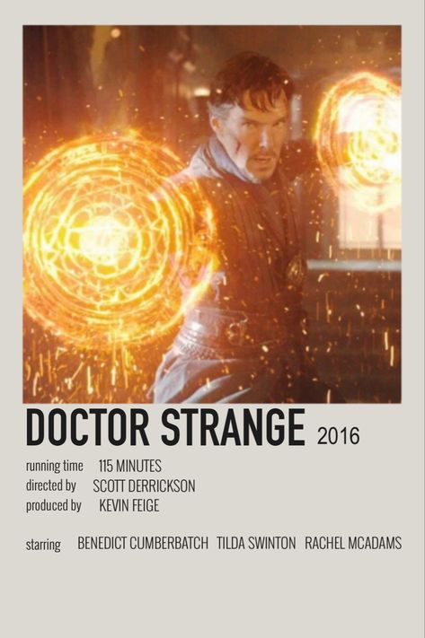 doctor strange ۞ (2016) - polaroid poster